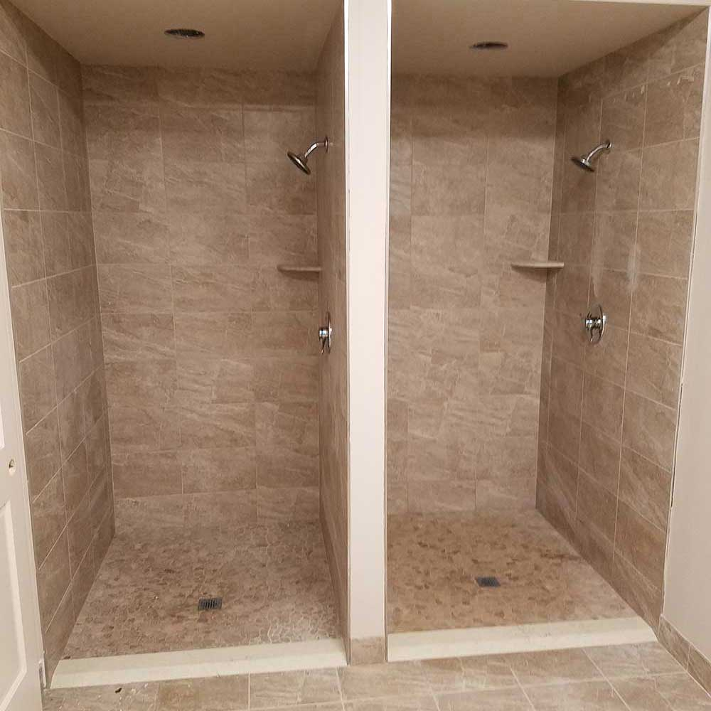 Double Bathroom Shower In White Plains NY