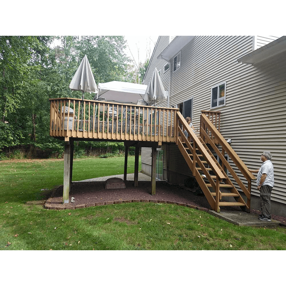 Residential Wooden Deck In White Plains NY