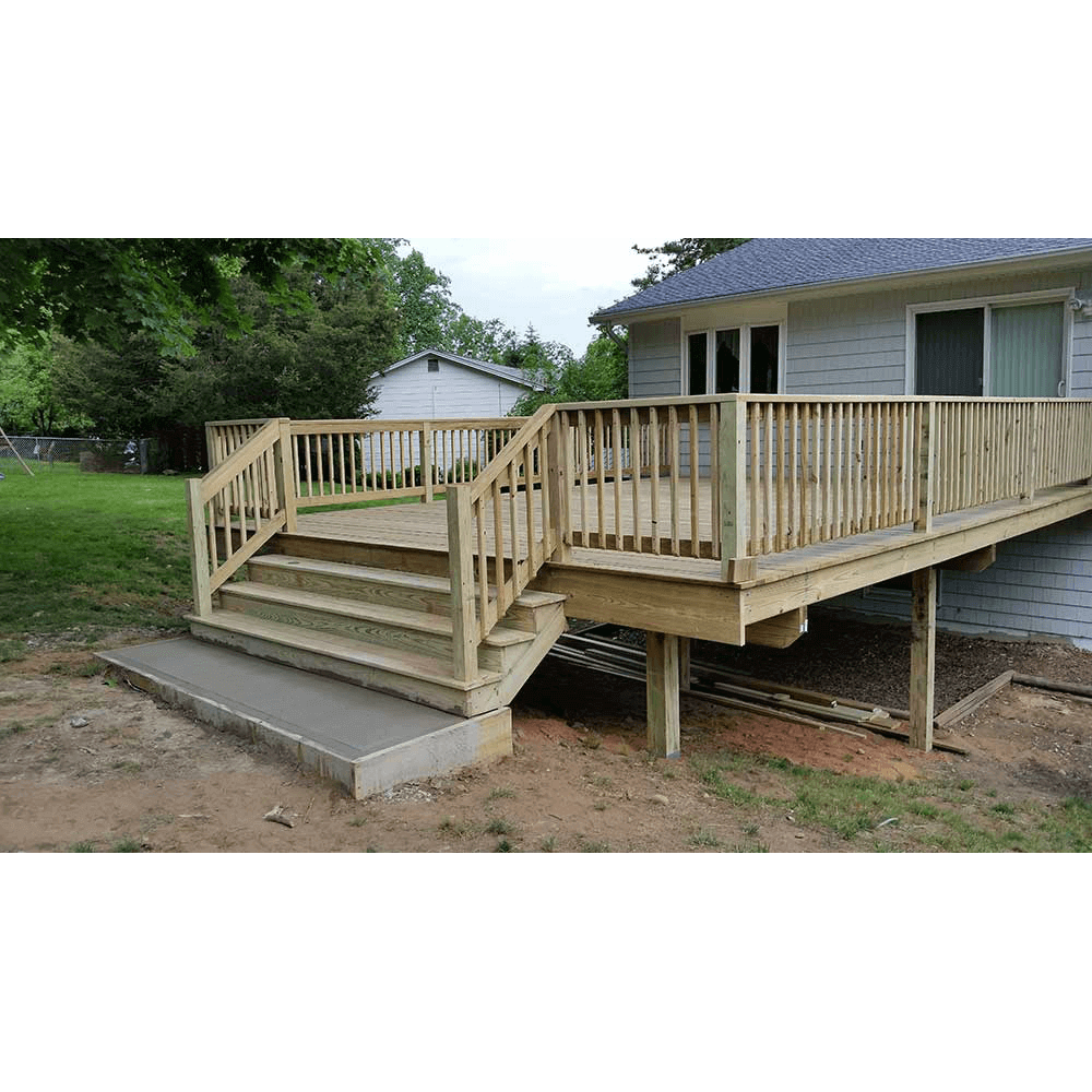 Wooden Deck In White Plains NY